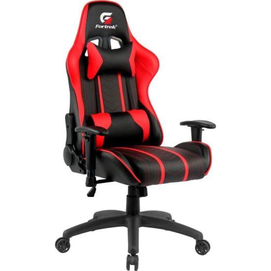 Cadeira Gamer Black Hawk Preta/Vermelha FORTREK (70510)