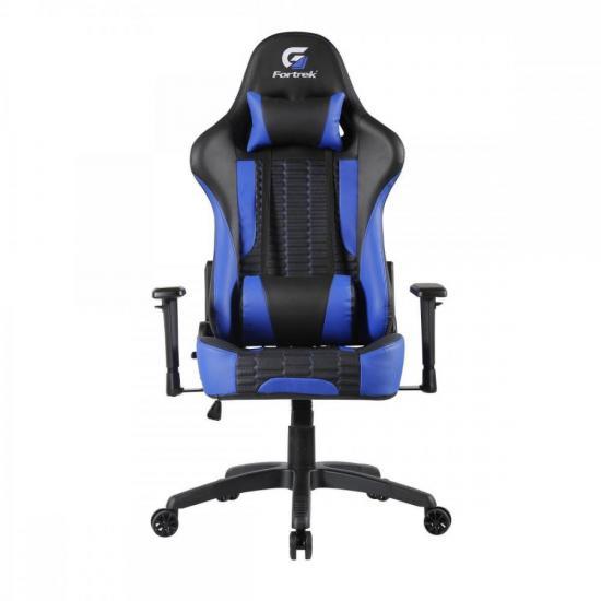 Cadeira Gamer Cruiser Preta/Azul FORTREK (70516)