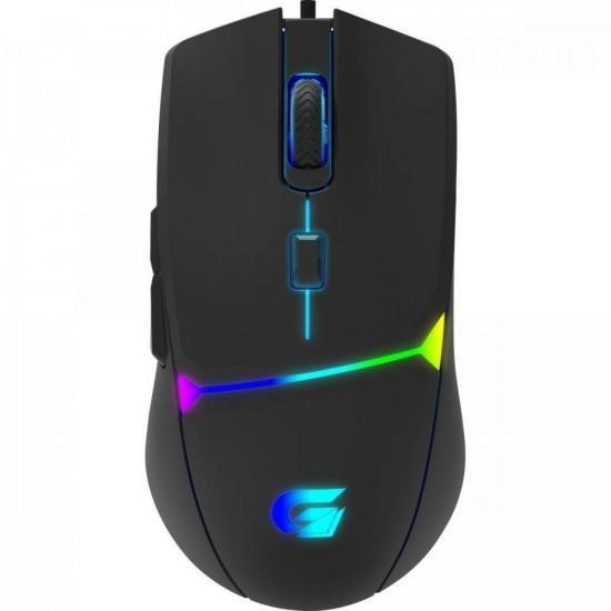 Mouse Gamer CRUSADER RGB 7200DPI Preto FORTREK G