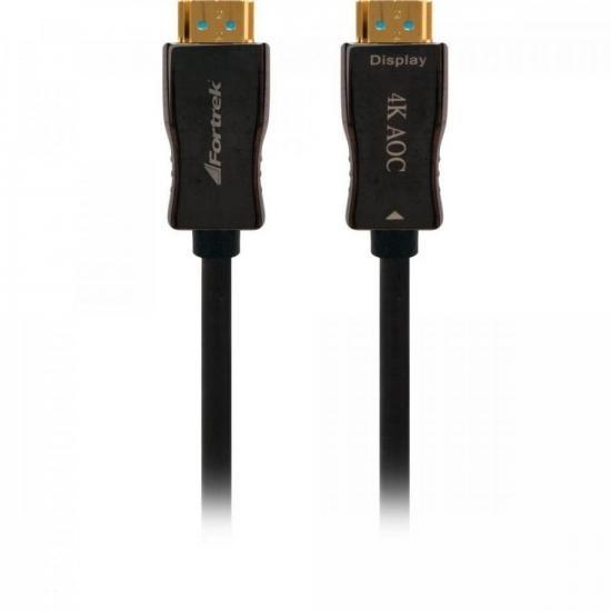 Cabo HDMI Fibra Optica 2.0 4K HFO220 20M FORTREK (70596)