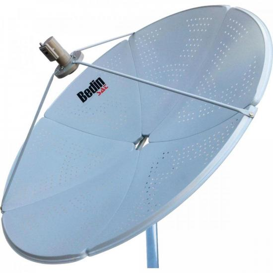 Antena Parabólica Banda C/KU BE-1,5M BEDINSAT (70605)