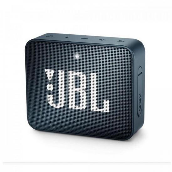 Caixa Multimídia Portátil GO 2 Navy JBL (70937)