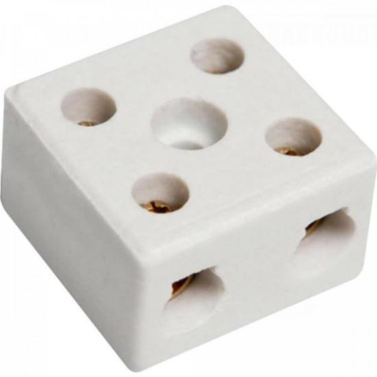 Conector de Porcelana 2 Polos 16mm CNPL0002 STORM