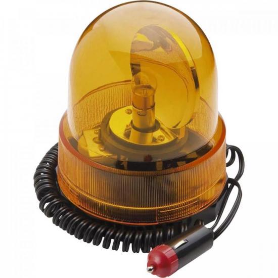 Luz de Emergência Giratória 12V Amarela GRFL0001 STORM (71071)
