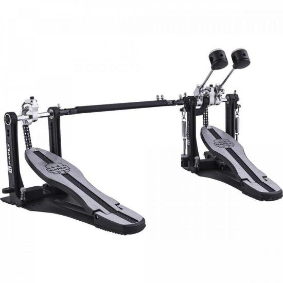 Pedal Duplo para Bumbo P600TW Preto MAPEX (71113)