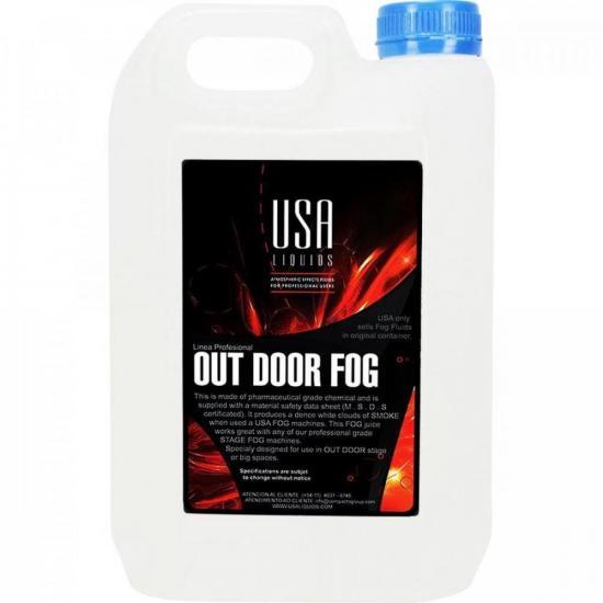 Carga De Fumaça 5 Litros Out Door Fog Profissional USA