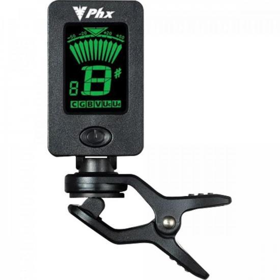 Afinador Digital Cromático Clip FT-18 Preto PHX