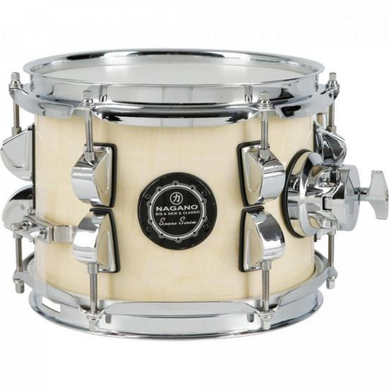 Caixa para Bateria 8x6'' New Beat Natural Clear NAGANO (71434)