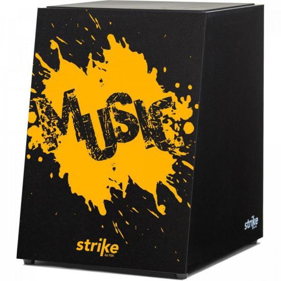 Cajon Eletroacústico Inclinado Strike Splash SK5053 FSA (71495)