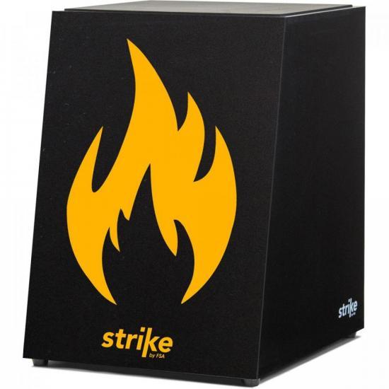 Cajon Eletroacústico Inclinado Strike Fire SK5051 FSA (71498)