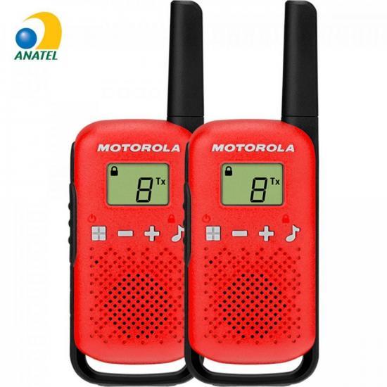 Rádio Comunicador Talkabout 25km T110BR Vermelho MOTOROLA (71669)