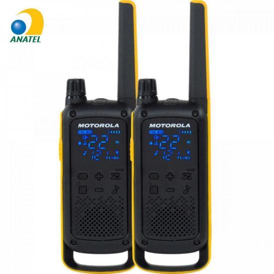 Rádio Comunicador Talkabout 35km T470BR Amarelo/Preto MOTOROLA (71670)