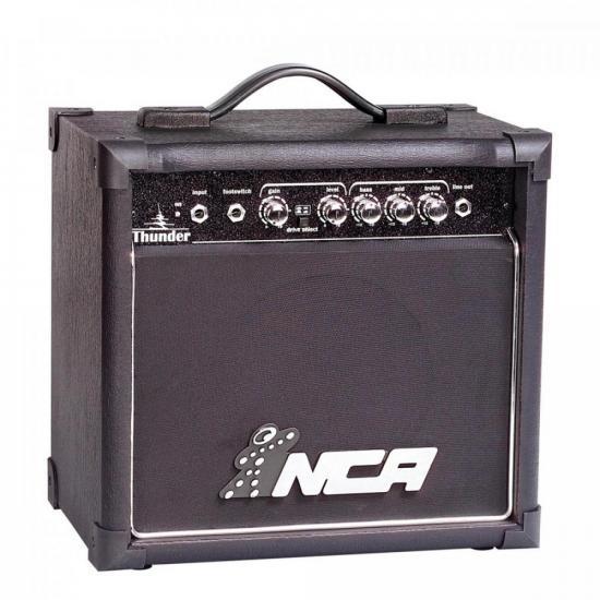 Cubo para Guitarra 15W Thunder Preto NCA
