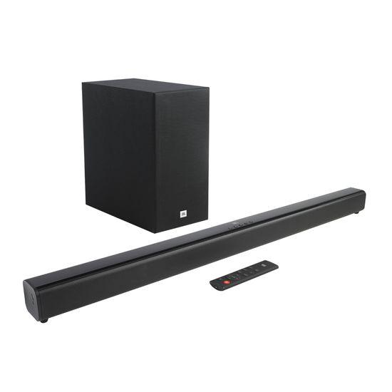 Soundbar com Subwoofer 2.1 Bluetooth 220W Cinema SB160 Preta JBL (71776)