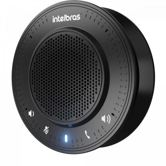 Audioconferência USB Portátil CAP 100 Preto INTELBRAS (72018)