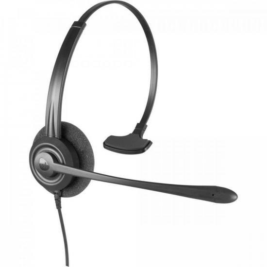Fone Headset Monoauricular QD CHS 60 Preto INTELBRAS (72024)
