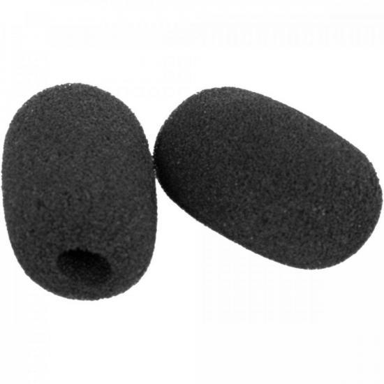 Espuma para Microfone AM 3551/3601 Preta INTELBRAS (72038)