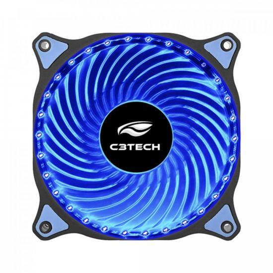 Cooler Fan 12cm 30 LED Storm F7-L130BL Azul C3TECH