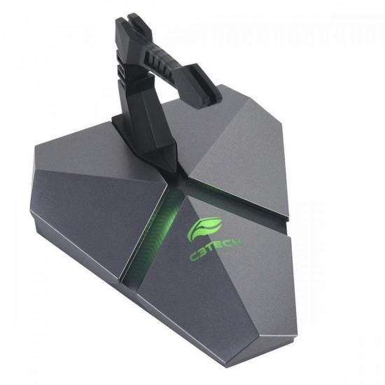 Mouse Bungee USB com HUB MB-200SI Preto C3TECH (72423)