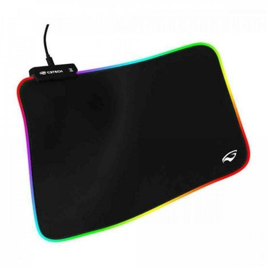 Mouse Pad RGB MP-G2100BK Preto C3TECH (72425)