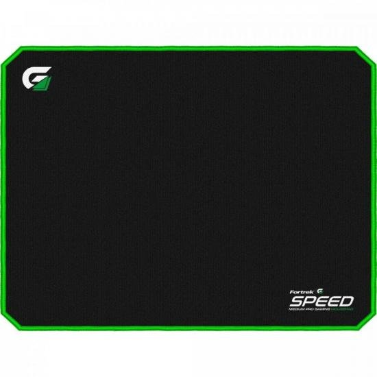Mouse Pad Gamer (320x240mm) SPEED MPG101 Verde FORTREK (72691)