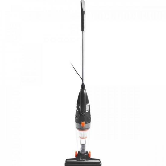Aspirador Vertical 1100W 127V Ciclone HO083 Preto/Laranja MULTILASER (72802)
