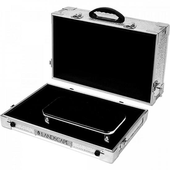 Pedalboard Aluminum Case AC200 Prata LANDSCAPE (72914)