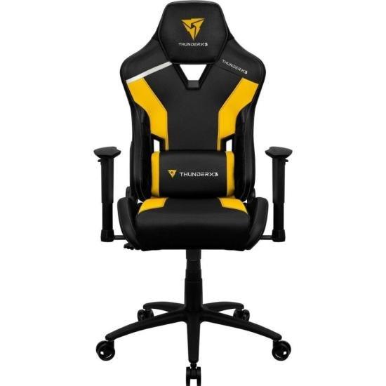 Cadeira Gamer TC3 Bumblebee Yellow THUNDERX3