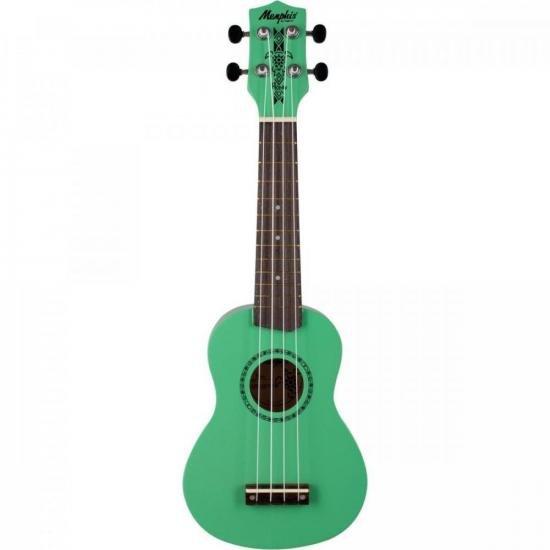 Ukulele Soprano Honu Surf Green MEMPHIS (73362)