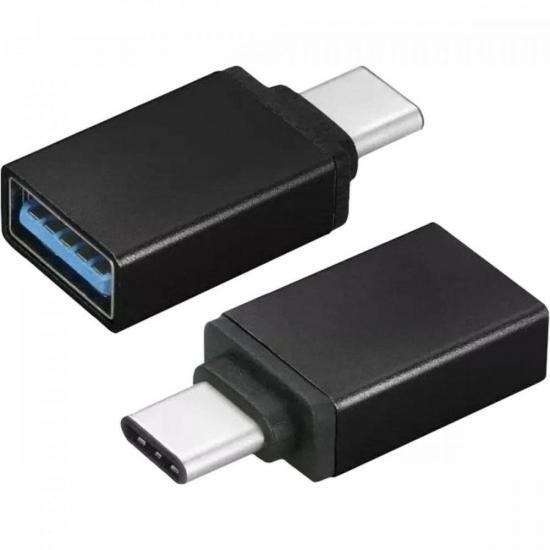 Adaptador OTG p/ USB Tipo C OTG-02 Lite SOUNDVOICE (73381)