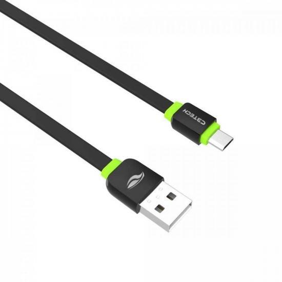 Cabo USB x Micro USB 1m CB-100 Preto C3TECH