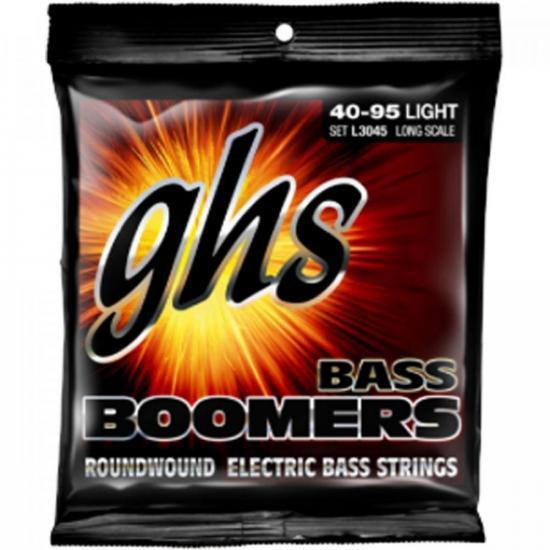 Encordoamento p/ Baixo 4 Cordas 040-095 Bass Boomers GHS (73495)