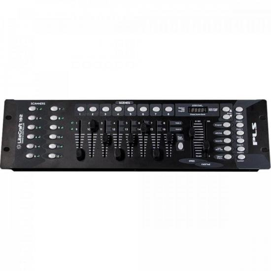 Mesa controladora DMX Litecraft 192 PLS
