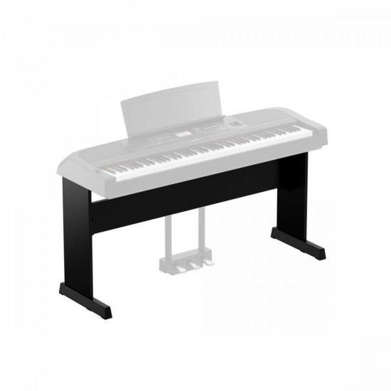 Estante para Piano Digital DGX-670 Preta YAMAHA