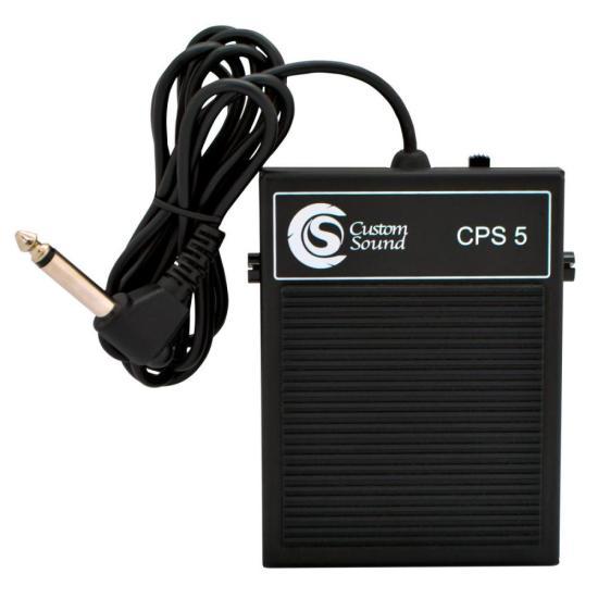 Pedal De Sustain Para Teclado CPS-5 Preto CUSTOM SOUND