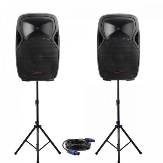 "Kit Caixa Acústica 15"" + Acessórios HAYONIK (74552)"