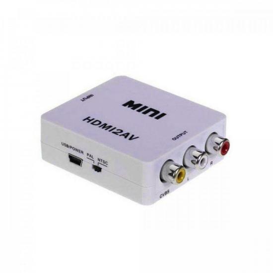 Conversor HDMI x AV 1080P EXBOM