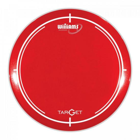 """Pele 13"""" WILLIAMS Target WR2 Vermelho (75079)"""