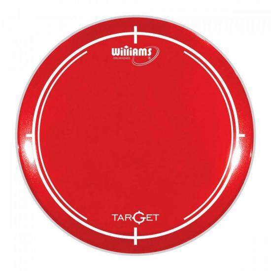 """Pele 08"""" WILLIAMS Target WR2 Vermelho (75082)"""