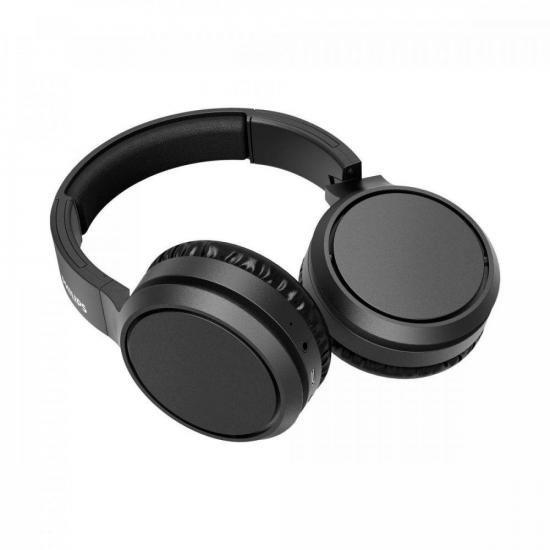 Fone de Ouvido Bluetooth TAH5205BK/00 Preto PHILIPS (75101)