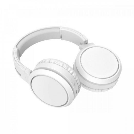 Fone de Ouvido Bluetooth TAH5205BK/00 Branco PHILIPS (75102)