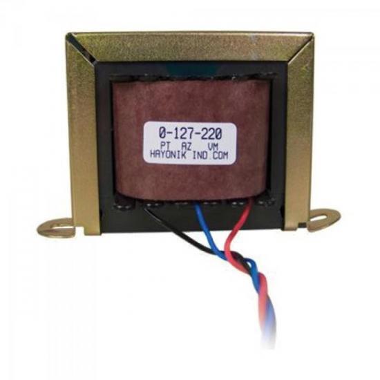 Transformador 24VAC 127/220VAC 600mA 24/1S HAYONIK (8089)