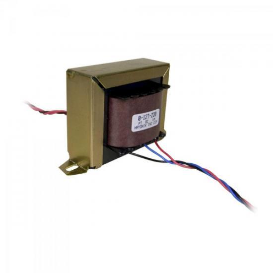 Transformador 12+12VAC 127/220VAC 5A 12/6 HAYONIK