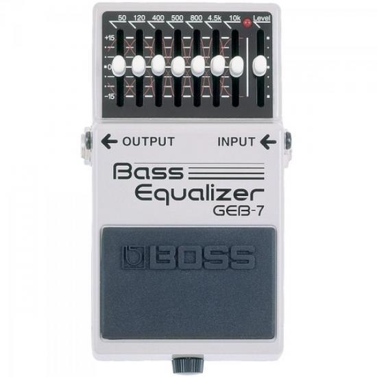 Pedal Para Contrabaixo GEB7 Bass Equalizer BOSS